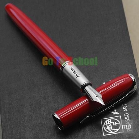 PICASSO-916-VIVID-RED-FINE-NIB-22KGP-FOUNTAIN-PEN-WITH-ORIGINAL-BOX